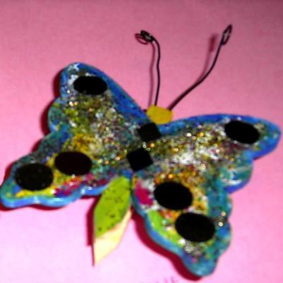Fabriquer un pense bête papillon à offrir en cadeau