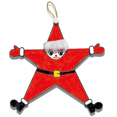 Père Noël en étoile