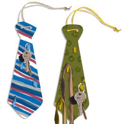 Porte-cravates en forme de grosse cravate cadeau de fête des pères