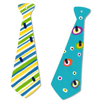 Porte cravates à peindre