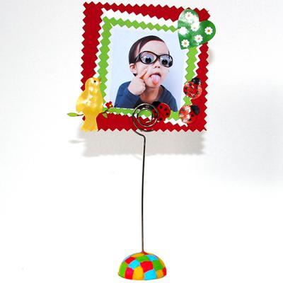 Porte-photo garçon à offrir à la fête des mères