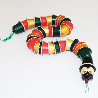 En Articulé Recyclage À Serpent Bricolage Tête Capsules Café 7b6gIYyfv