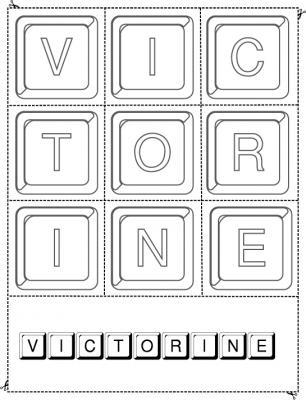 victorine keystone