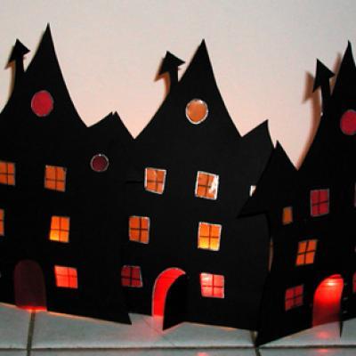 Fabriquer un photophore maison pour Halloween