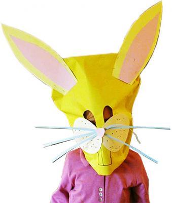 masque géant de lapin