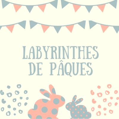 Des jeux de labyrinthe à imprimer sur le thème de Pâques. Les jeux sont à imprimer pour occuper les enfants pendant les vacances, durant le voyage. Un idée pour s'amuser tout en stimulant les fonctions d'apprentissage, faisant appel à l'observation,