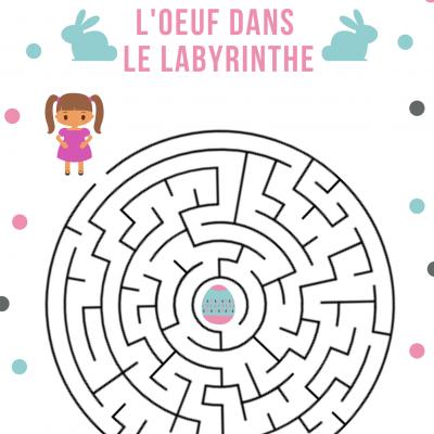 Des jeux de labyrinthe à imprimer sur le thème de Pâques. Les jeux sont à imprimer pour occuper les enfants pendant les vacances, durant le voyage. Un idée pour s'amuser tout en stimulant les fonctions d'apprentissage, faisant appel à l'observation, la lo