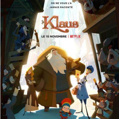 Klaus est un film d'animation sorti en 2019. Retrouvez la bande annonce et des infos sur ce joli dessin animé de Noël