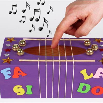 tuto pour bricoler avec les enfants une boîte à musique