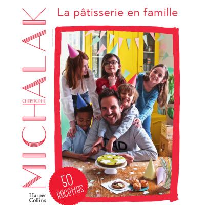 La pâtisserie en famille est un livre de recettes écrit par Christophe Michalak. Le célèbre chef cuisto propose 50 recettes inédites et adaptées aux enfants de 6 à 12 ans. Présentation du livre !