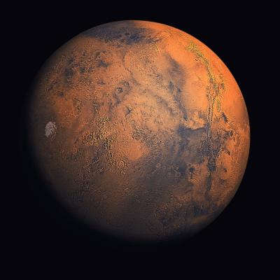 Plus éloignée du soleil que la terre, Mars est une planète froide. Mars est connue des hommes depuis toujours, l'observation de sortes de canaux à sa surface a conduit les hommes à imaginer que la vie