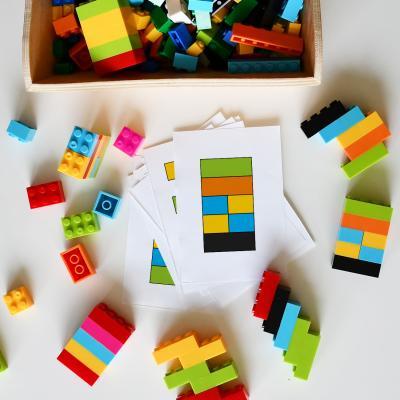 Imprimez gratuitement les modèles d'encastrement Lego