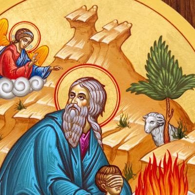 Pour symboliser sa foi, chaque famille du peuple hébreu avait sacrifié un agneau avant de traverser la Mer Rouge. Dieu avait alors ordonné à Moïse de faire immoler un agneau mâle par famille,