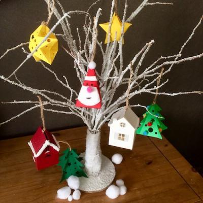 Un tuto pour réaliser un arbre de Noël avec des suspensions