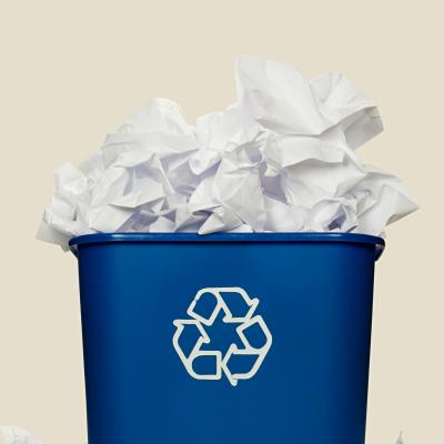 le papier est recyclable