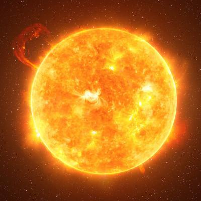 Notre étoile est le soleil. Il est apparu il y a environ 5 milliards d'années.