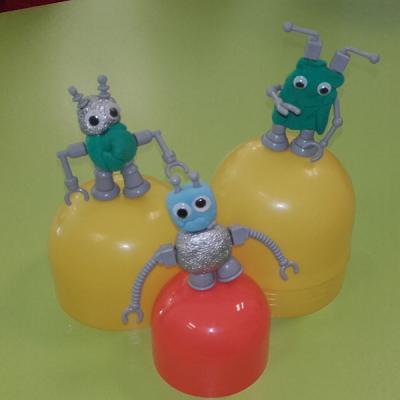 tuto pour bricoler des petits robots extraterrestres