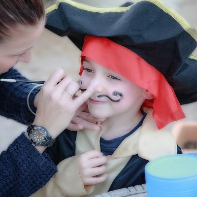 Maquillage de clown enfant