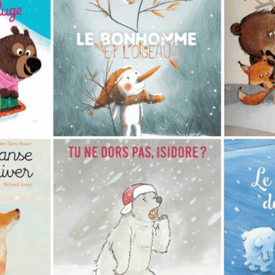 Vous cherchez un livre pour les enfants sur le thème de l'hiver Voici une sélection de 19 albums jeunesse qui parlent de cette saison unique et particulièrement créative.