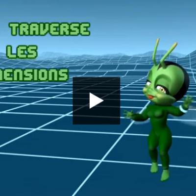 la série Lucie à travers les dimensions de francetv éducation propose un épisode sur l'équivalence