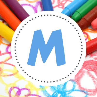 Coloriage prénoms M