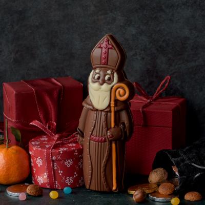 Activité pour réaliser un mini livre sur Saint Nicolas.  Fiche explicative illustrée et modèles gratuits.