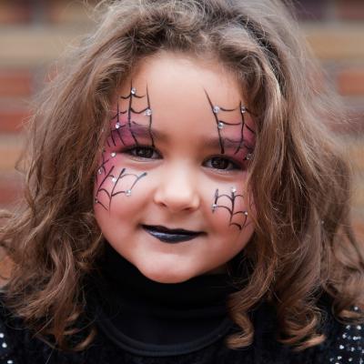 maquillage de sorcière , Maquillage sur Tête à modeler