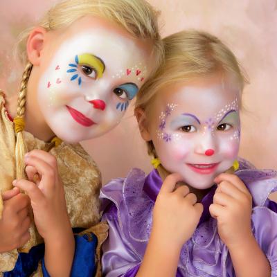Maquillage anniversaire - Maquille de chien pour fête d'enfants