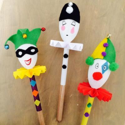 Un tuto pour créer des marionnettes avec des cuilleres en bois