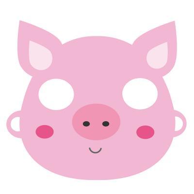 Masque paper toy à imprimer. Un masque de renard à imprimer pour se déguiser. La réalisation du masque de renard est facile, il suffit d'imprimer le masque et les bandes d'attache pour fabriquer un masque en pap