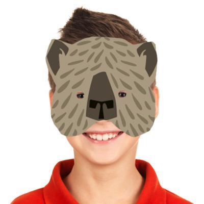 Masque ours à gommettes