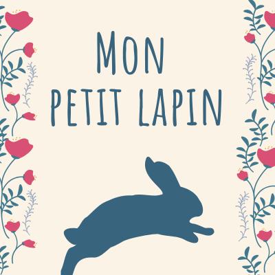 """Les paroles de la comptine """"Mon petit lapin"""" en vidéo pour chanter avec les enfants à Pâques !"""