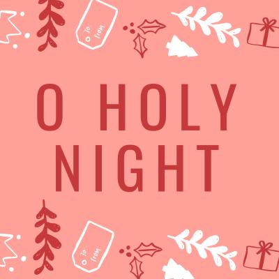 Chanson O Holy nignt pour chanter Noël en anglais avec les enfants. Une chanson pour chanter Noël en anglais.