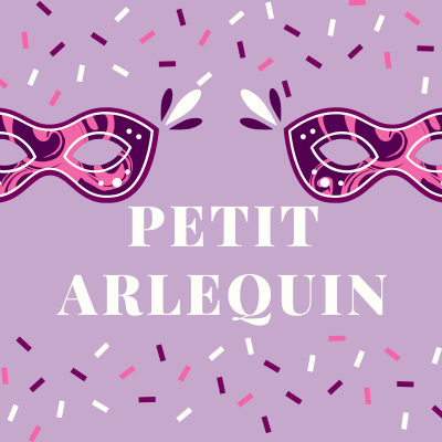 """Chanson """"Petit Arlequin """" pour chanter avec les enfants. Paroles version à colorier."""