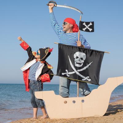 pirate - mot du glossaire Tête à modeler. Définition et activités associées au mot pirate.