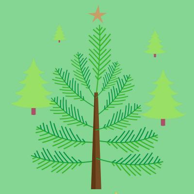 Poème : Sapin vert, sapin de bois