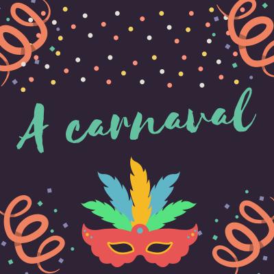 Poésie A Carnaval Sur Tête à Modeler