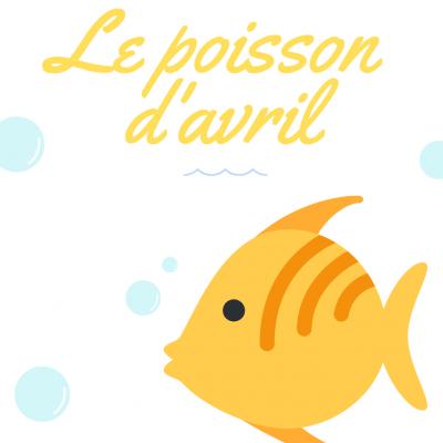 """Un joli poème pour illustrer la farce du 1er avril. La poésie """" poisson d'avril """" raconte l'histoire d'un poisson né le 1er avril et qui a de la difficulté à être cr&ea"""