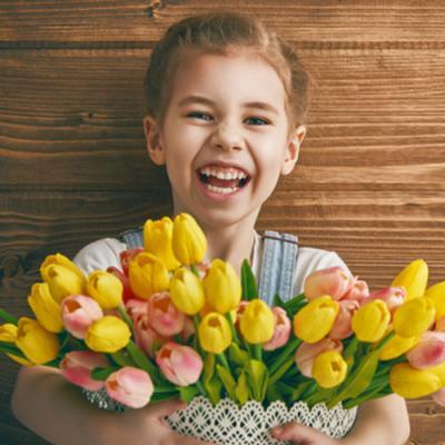 Fleurs de printemps, un bricolage de printemps