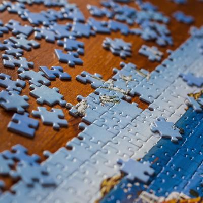 puzzle - mot du glossaire Tête à modeler. Définition et activités associées au mot puzzle.