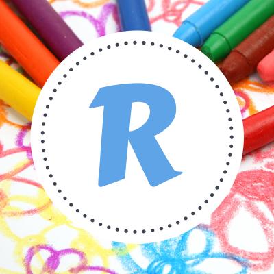 Tout le coloriage des prénoms commençant par R