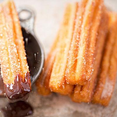 Recette des churros au Nutella