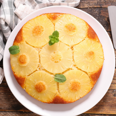 Gâteau aux ananas