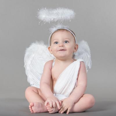 Activité de bricolage pour réaliser un Serre tête ange pour accompagner un maquillage ou déguisement d'ange. Serre tête ange pour déguiser son enfants pour les fêtes ou le carnaval.