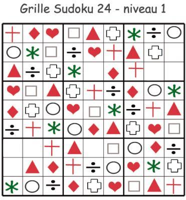 Sudoku grille 24 un Sudoku pour la Maternelle. Sudoku pour la maternelle. cette grille de sudoku est à compléter en collant les visuels de fruits et légumes. Grille de sudoku 20 à compléter en collant