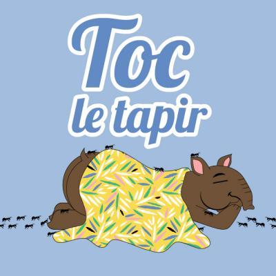 Toc le tapir - Les paroles de la chanson à chanter en famille. Toc est un tapir qui aime beaucoup les fourmis. Un jour cependant, elles décident de se glisser dans son lit. Passez du temps en famille à apprendre la chanson afin de pouvoir la chanter tous