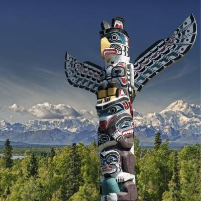 totem - mot du glossaire Tête à modeler. Définition et activités associées au mot totem.