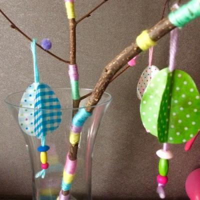 Un tuto pour réaliser un arbre de Pâques en famille