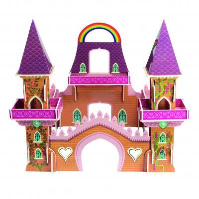 Le château princesse en 3D est un excellent jeu de construction qui va ravir toutes les petites filles qui adorent les princesses. U