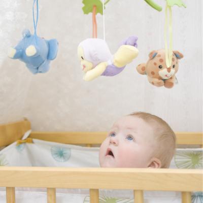 A quoi sert le mobile d'éveil pour bébé ? Le mobile musical ou non est l'un des premiers jouets de bébé, il est généralement placé au-dessus du berceau de b&eacute
